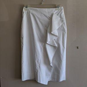 NWT JCrew Ruffled Knee Skirt sz 00